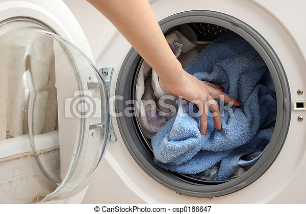Preparation for wash - csp0186647