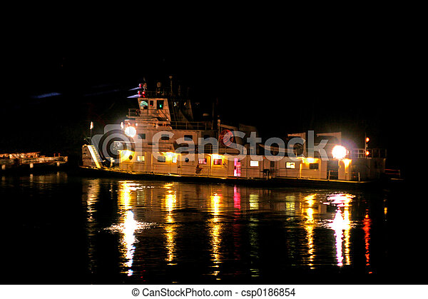 night tug - csp0186854
