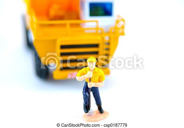 Construction Worker - csp0187779