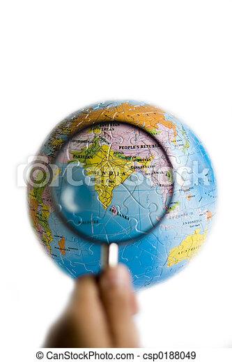 World 3D Puzzle (India) - csp0188049