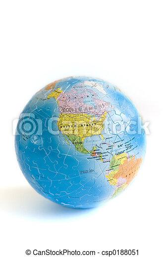 Globe 3D Puzzle - csp0188051