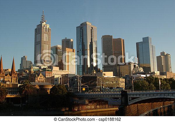 Melbourne, Australia - csp0188162