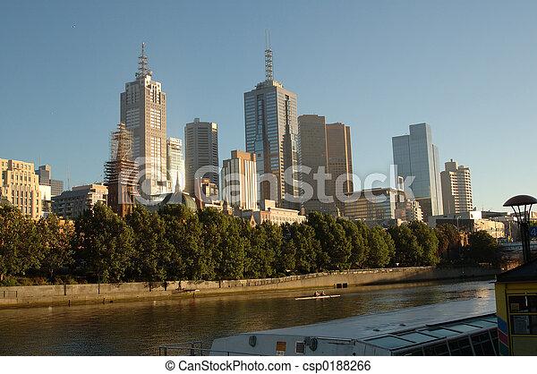 Melbourne, Australia - csp0188266