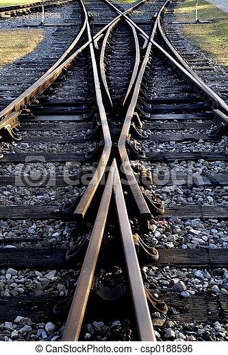 Railway lines - csp0188596