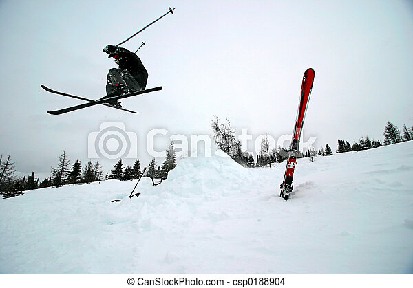 Extreme Skiing - csp0188904