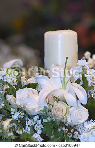 Wedding candle - csp0188947