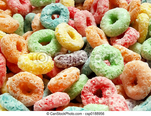 colorful cereal - csp0188956