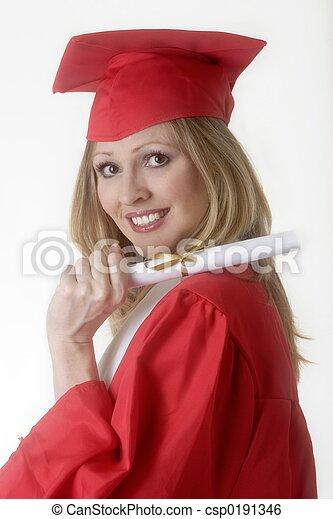 Happy graduation photo - csp0191346