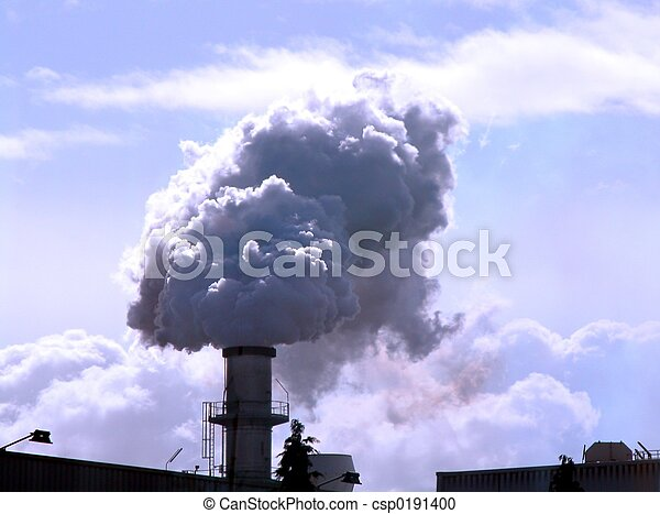 Industrial pollution - csp0191400