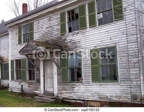 Abandoned house - csp0192123