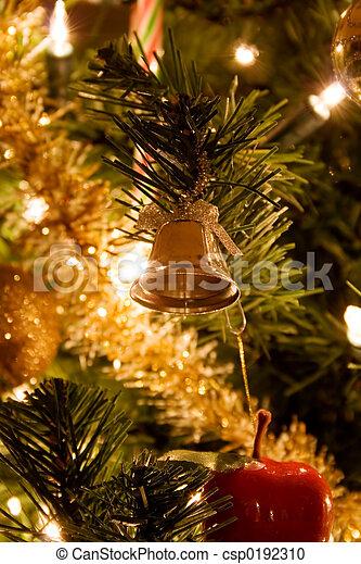 樹, 聖誕節 - csp0192310