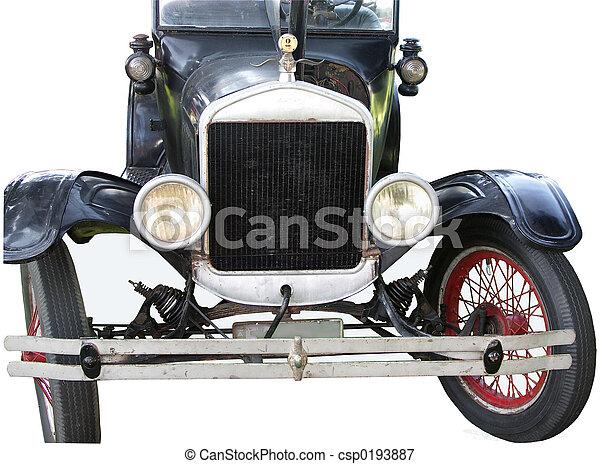 Automobile, vieux - csp0193887
