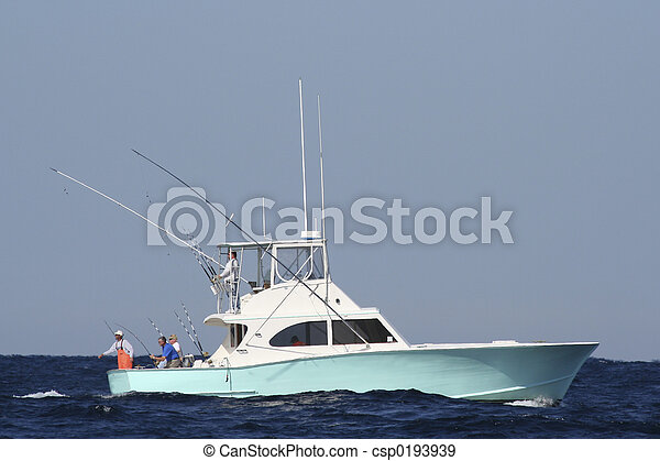 Sport Fishing Boat - csp0193939