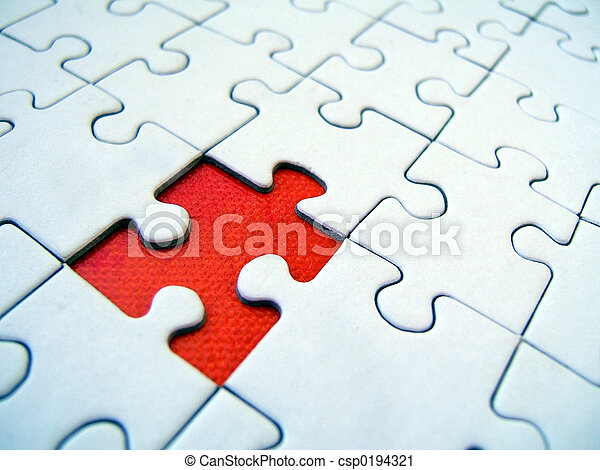 modèle, puzzle - csp0194321