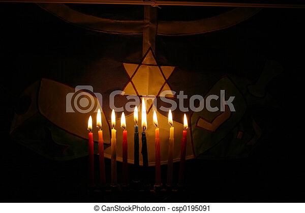 Hanukah - csp0195091