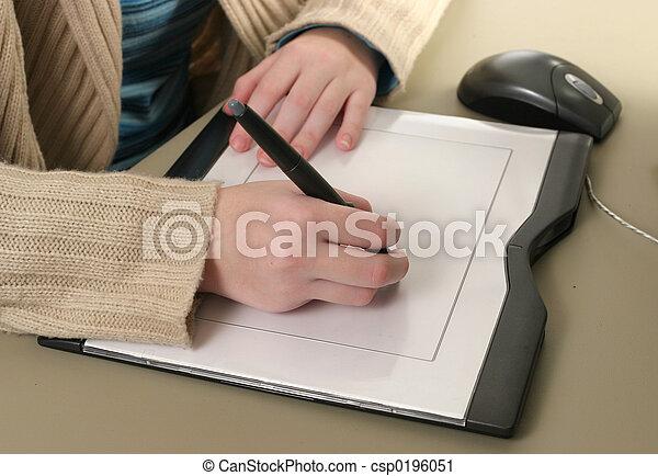 Computer Graphics Tablet - csp0196051
