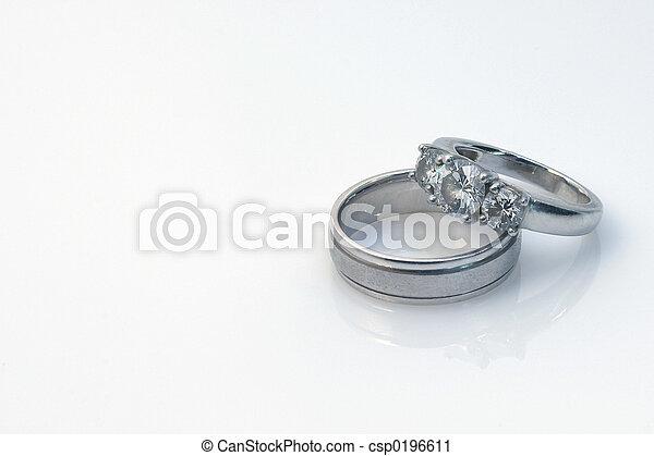 Wedding Rings - csp0196611