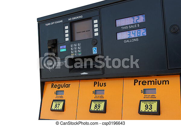 Gas Pump - csp0196643