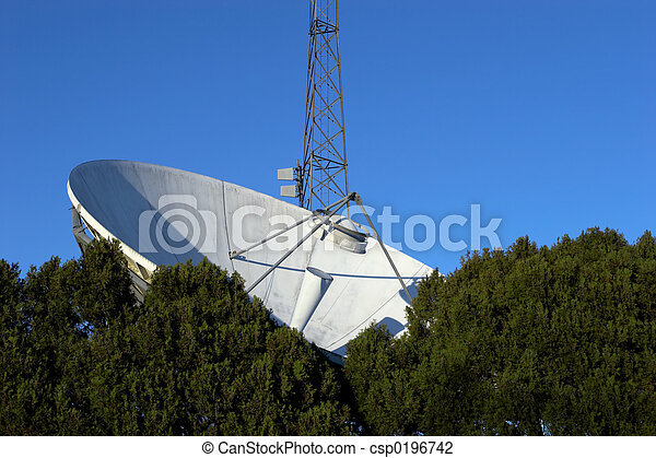 Satellite Dish - csp0196742