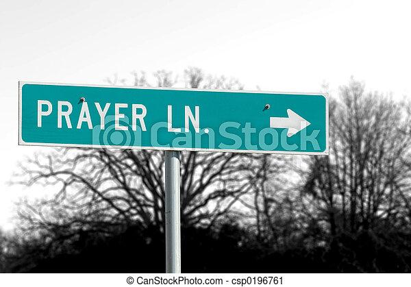 Prayer Lane Road - csp0196761