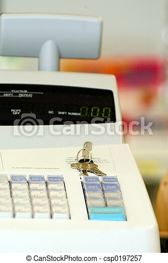 register, kontanter - csp0197257