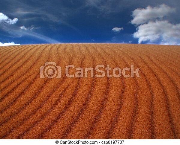 Sand Ripples - csp0197707