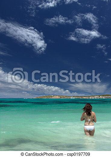 Beach Walk - csp0197709