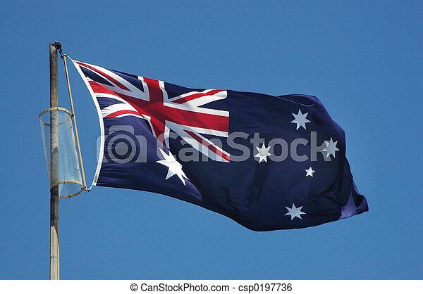 Australia Flag - csp0197736