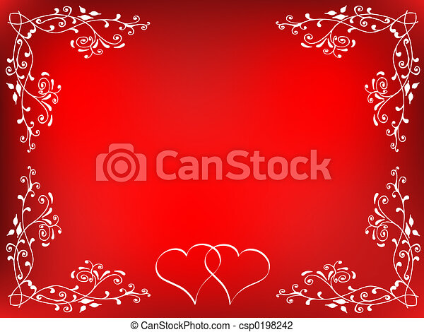 Valentines backgroun - csp0198242