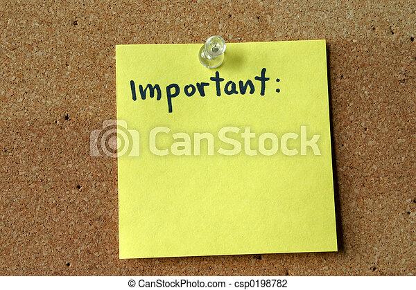 important - csp0198782