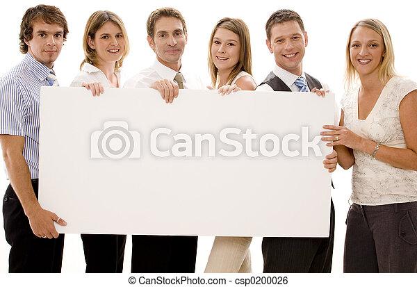 Business, signe - csp0200026