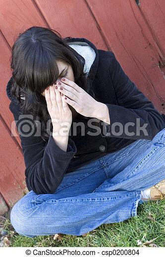 Sad Woman - csp0200804