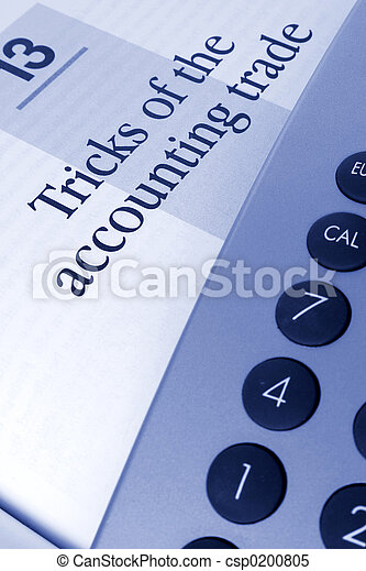 Accounting Tricks - csp0200805