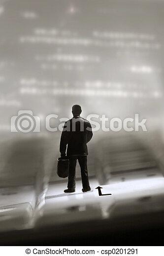 Man on a trip - csp0201291
