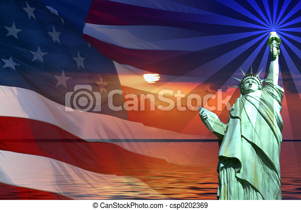 Signs and Symbols of America - csp0202369