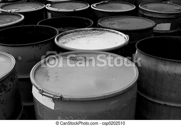 Waste Barrels - csp0202510