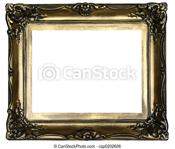 antique frame #2 - csp0202606