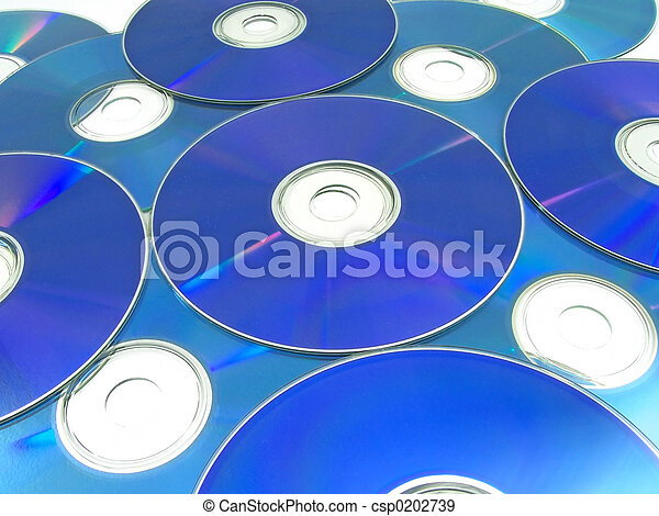 Optical Discs 01 - csp0202739