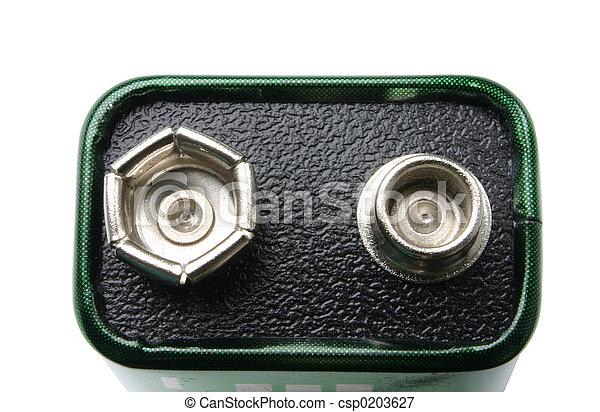 Nine volts battery - csp0203627