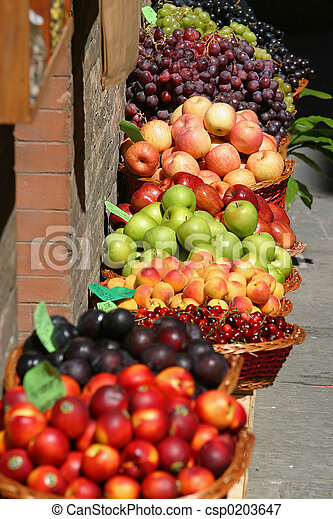 fruit Market - csp0203647