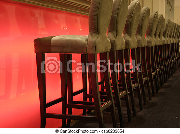 Stock Photo Of Classy Bar Stools A Upscale Bar With