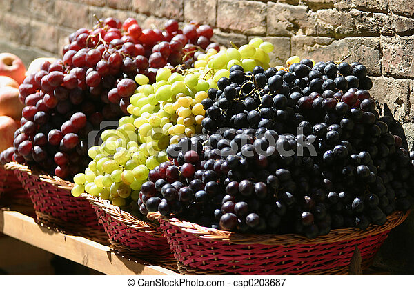 Grapes For Sale - csp0203687