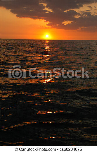 Pacific Sunset - csp0204075