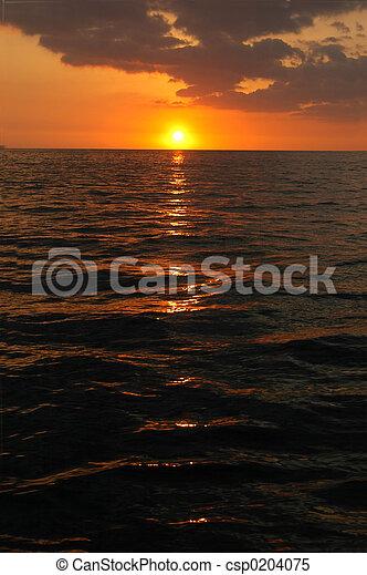 Pacific Sunset  - csp0204075