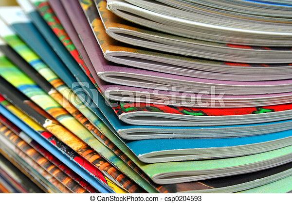 Colorful Magazines - csp0204593