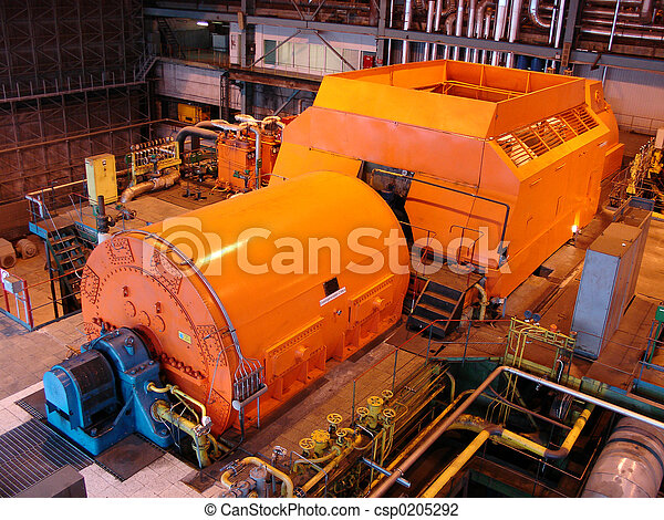 steam turbine - csp0205292
