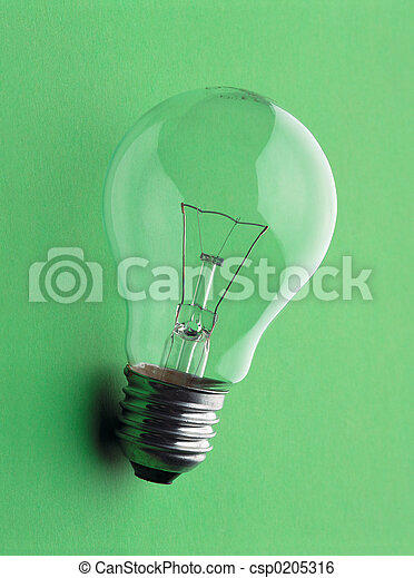 Electric lamp - GlühbirneElectric lamp - Gl?e - csp0205316