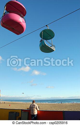 Santa Cruz Boardwalk - csp0205916