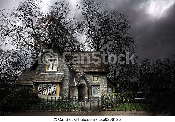 Stock Images of Haunted House #1 - Haunted house in London ...