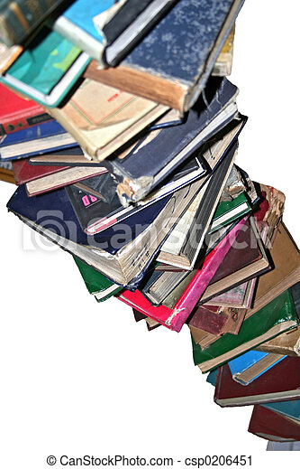 Books In A Stack - csp0206451